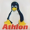 Linux Case Badge - Athlon
