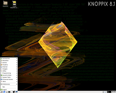 Knoppix Linux on DVD