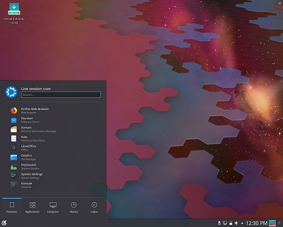 Kubuntu Linux 19.04 on USB