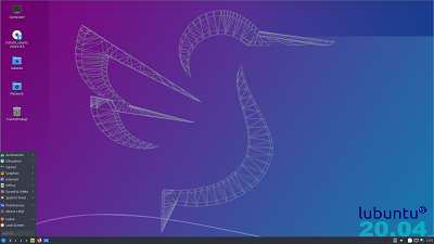 Lubuntu 20.10 for 64-Bit on DVD