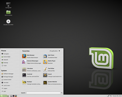 Linux Mint 19 Xfce on USB