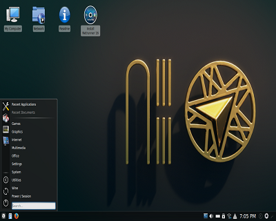 Netrunner Linux on 32GB USB Drive