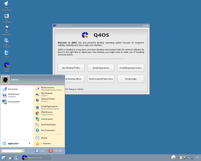 Q4OS Linux on USB