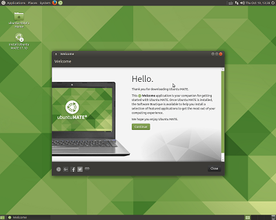 Ubuntu MATE on DVD