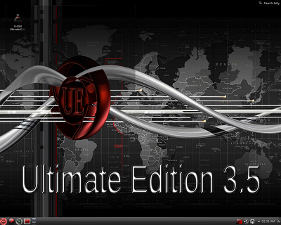Ultimate Linux 3.5 64-Bit on DVD